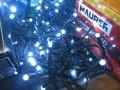 LUCI NATALE X ESTERNO ED INTERNO 300 LED MT.15 LUCE BIANCA FREDDA