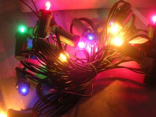 Lampadina ricambi per catenaria luci di natale multicolor