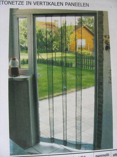 Zanzariera a tenda per porta da cm 100x240 ferramenta - Zanzariera porta ...