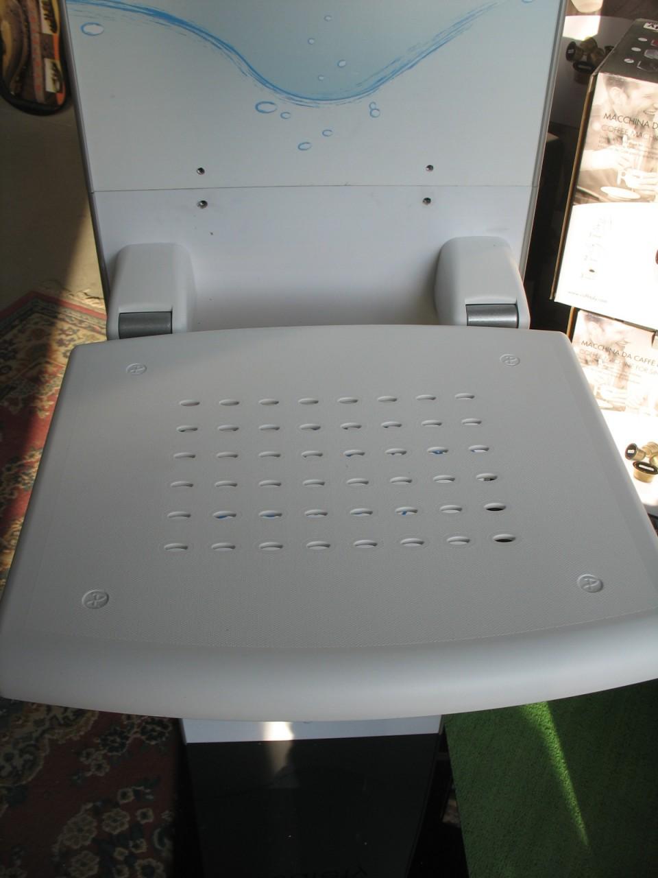 Sedile Doccia Ribaltabile Da Muro Disabili Anziani 43x48cm Ferramenta Belleli